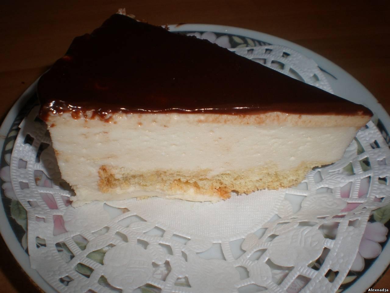 Торт птичье молоко рецепт без сгущенки